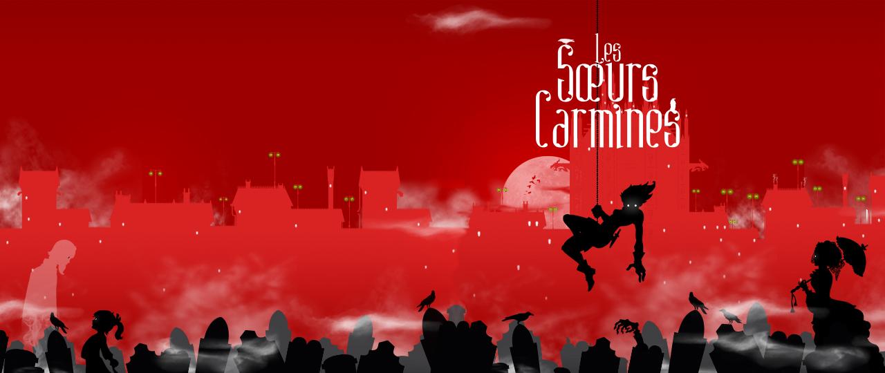 couverture du livre jeunesse d'Ariel Holzl Les Sœurs Carmines