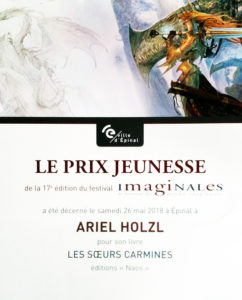 Prix du Livre Jeunesse du fezstival des Imaginales 2018